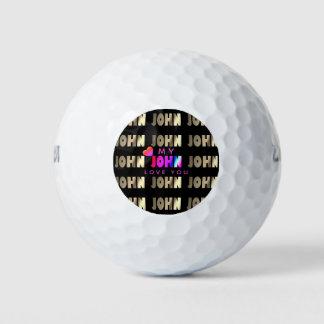 Balles De Golf Boule de golf élégante et futée pour John