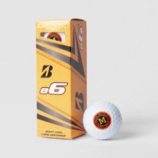 Balles De Golf boule de golf personnalisée avec le monogramme