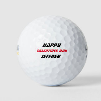Balles De Golf Boule de golf personnalisée, Saint-Valentin