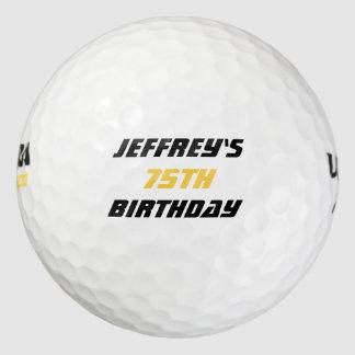 Balles De Golf Boule de golf personnalisée, soixante-quinzième