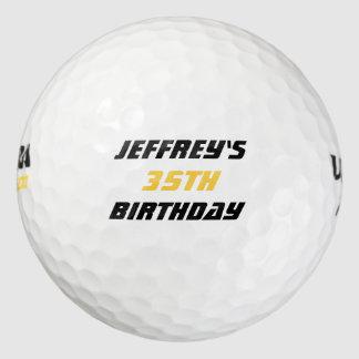 Balles De Golf Boule de golf personnalisée, trente-cinquième