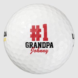 Balles De Golf Boules de golf de fête des pères de grand-papa du