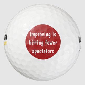 Balles De Golf Boules de golf des hommes drôles