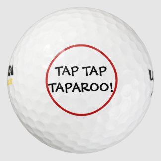 Balles De Golf Boules de golf drôles de Taparoo de robinet de