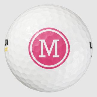 Balles De Golf Boules de golf personnalisées par monogramme de