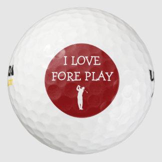 Balles De Golf Ensemble drôle de boules de golf