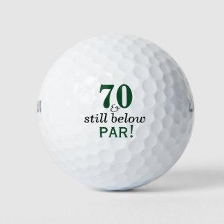 Balles De Golf Fête d'anniversaire drôle de boules de golf