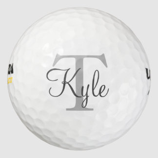 Balles De Golf Golf fait sur commande Balls| Initials|Name de
