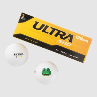 Balles De Golf Grenouille - Emoji