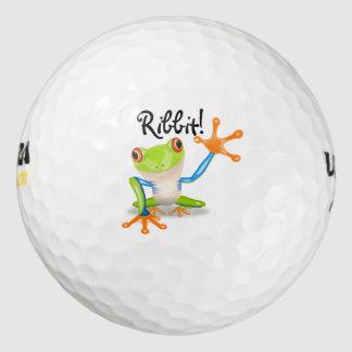 Balles De Golf Grenouille ! Ribbit ! - Boule-Personnaliser de