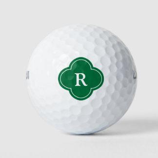 Balles De Golf Initiale du monogramme du golfeur