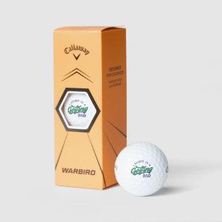 Balles De Golf J'appartiens aux boules de golf jouantes au golf