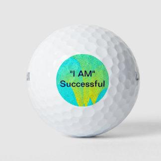 """Balles De Golf """"JE SUIS"""" les boules de golf réussies"""