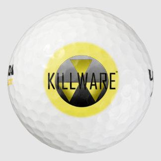 Balles De Golf KillWare sur le fairway