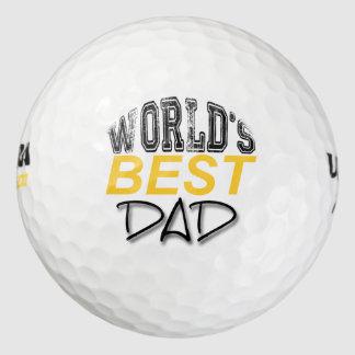 Balles De Golf La meilleure boule de golf de fête des pères du
