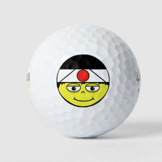 Balles De Golf Le Japon font face