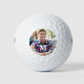 Balles De Golf Modèle photo simple de golfeur