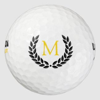 Balles De Golf Monogramme et guirlande