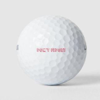 Balles De Golf NE REMUENT PAS les boules de golf (3-Pack Wilson
