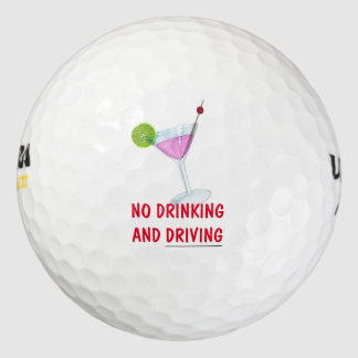 Balles De Golf Nouveauté drôle de boule de golf