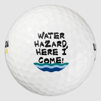 Balles De Golf Risque de l'eau, ici je viens !