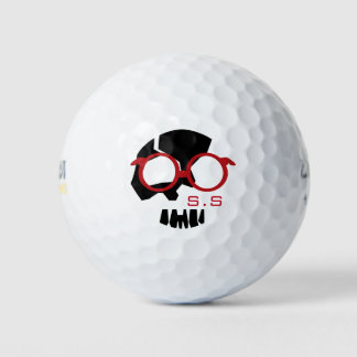 Balles De Golf SKULETONS BHQ avec des verres