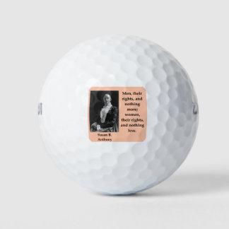 Balles De Golf susan b Anthony