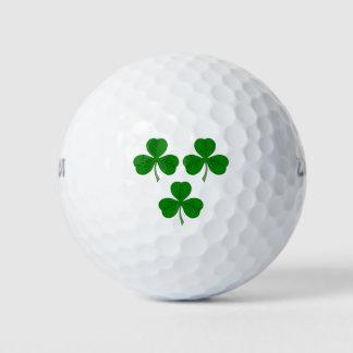 Balles De Golf Trois shamrocks