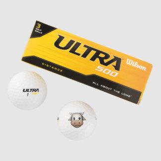 Balles De Golf Vache - Emoji