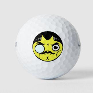 Balles De Golf Visage snob