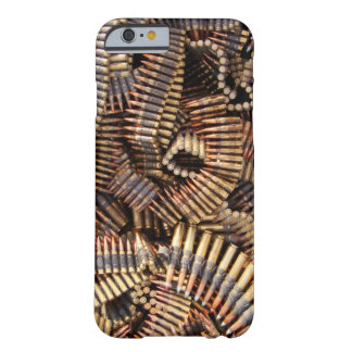 Balles, munitions coque iPhone 6 barely there