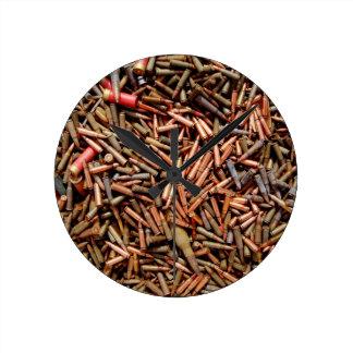 Balles, munitions horloge ronde