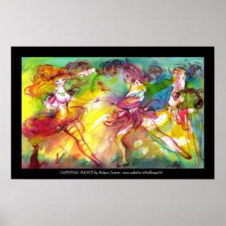 BALLET de CARNAVAL/mascarade vénitienne, danse, Posters