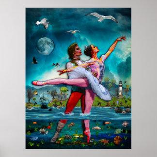 Ballet de lune bleue une fiction complète affiche