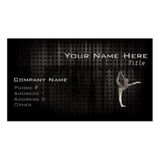 Ballet grunge frais carte de visite standard