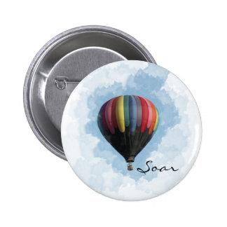 Ballon à air chaud badges