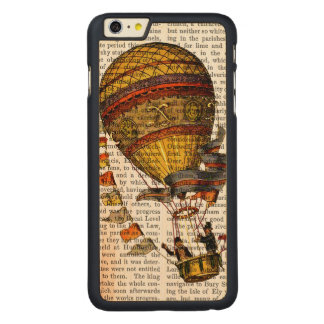 Ballon à air chaud de Le Pilote Coque Carved® En Érable Pour iPhone 6 Plus Case