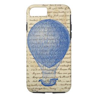 Ballon à air chaud sur l'écriture vintage coque iPhone 7