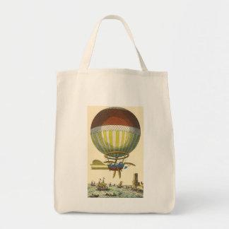 Ballon à air chaud vintage de Steampunk de la Sac