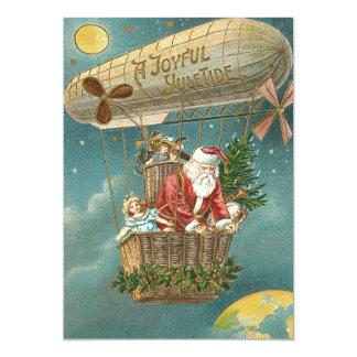 Ballon d'arbre de Noël de cadeaux de présents de Carton D'invitation 12,7 Cm X 17,78 Cm