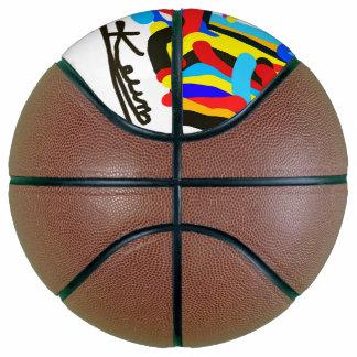"""Ballon De Basket basket-ball """"Uveculus"""" par l'artiste Jacob Keum de"""