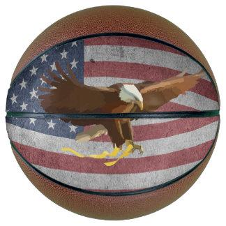 Ballon De Basket Drapeau des Etats-Unis