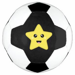 Ballon De Foot étoile De Kawaii