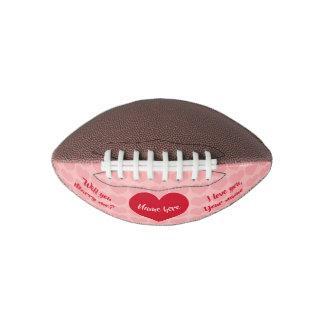 Ballon De Foot Proposition de mariage de Valentine