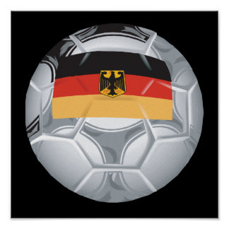 Ballon de football allemand posters