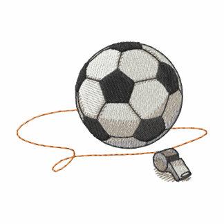 Ballon de football avec le sifflement polos