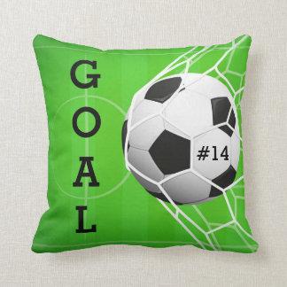 Ballon de football dans le filet - BUT Coussin