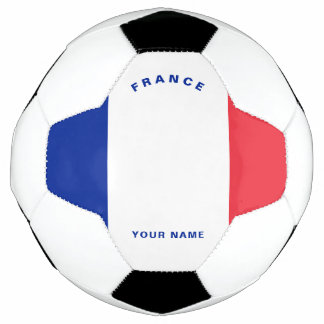 Ballon de football de drapeau de la France