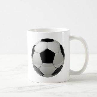 Ballon de football du football mug