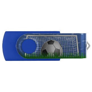 Ballon de football et filet clé USB 2.0 swivel